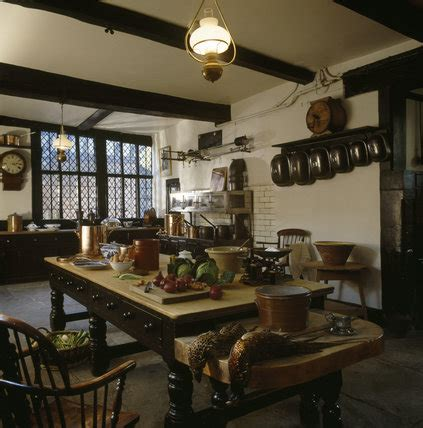 interior   kitchen  speke hall speke hall