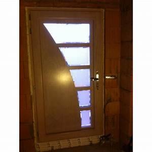 Porte d39entree en bois alu se situant en alsace for Porte d entrée bois alu