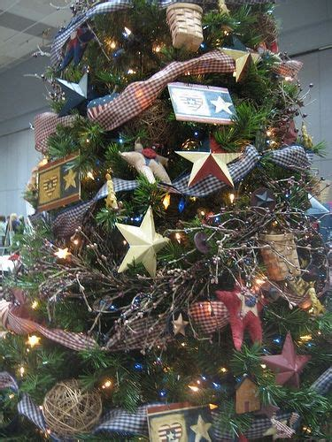 americana christmas tree theme this would match my house