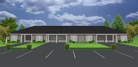 1 Bedroom Unit Rental by Apartment Plan With 5 Units J748 5 Plansource Inc