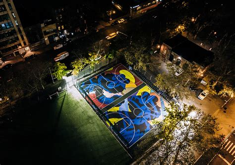 Nike Kaws Basketball Courts Nyc