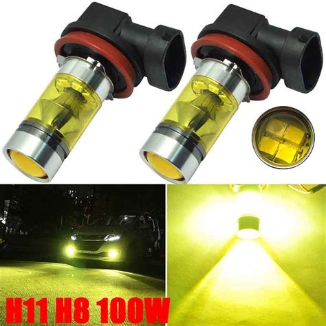 h11 led fog light bulb popular h11 led bulb yellow buy cheap h11 led bulb yellow