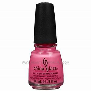 China Glaze Shocking Pink 1003 Polish Beauty Stop