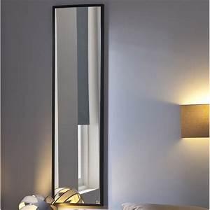 Miroirs Leroy Merlin : miroir lario inspire noir x cm leroy merlin ~ Melissatoandfro.com Idées de Décoration