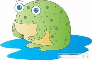 Amphibian Clipart : green_toad_227 : Classroom Clipart