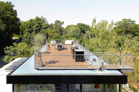 Dachterrasse Auf Flachdach by Aufstockung Haus S In Stuttgart Flachdach Wohnen