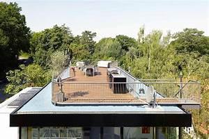 Haus Mit Dachterrasse : aufstockung haus s in stuttgart flachdach wohnen baunetz wissen ~ Frokenaadalensverden.com Haus und Dekorationen