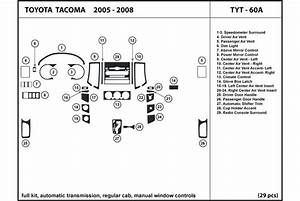 2006 Toyota Tacoma Dash Kits