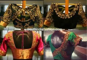 saree blouse designs designer blouses for silk sarees south india fashion