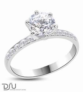152 carat f vvs2 round solitaire diamond engagement ring With one diamond wedding ring