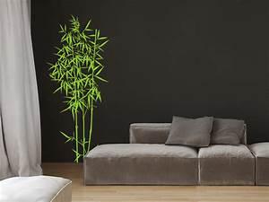 Zimmerpflanze Für Badezimmer : wandtattoo bambus strauch von ~ Michelbontemps.com Haus und Dekorationen