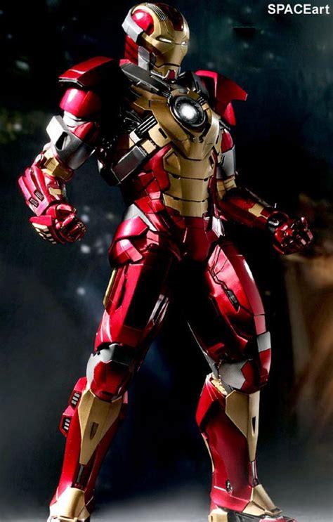 Iron Man 3 Heartbreaker Mark 17, Deluxefigur (voll