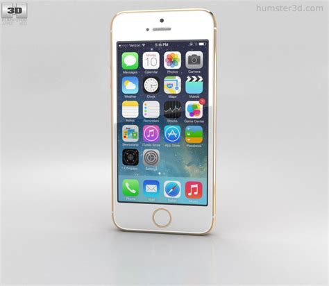 iphone model lookup apple iphone 5s gold 3d model humster3d