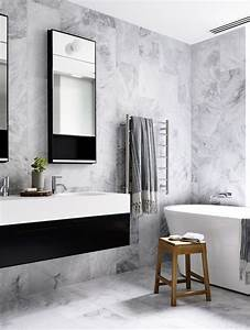 best 25 black white bathrooms ideas on pinterest white With black and grey bathroom ideas