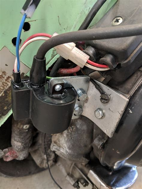 modern vespa sip electronic ignition install dc conversion