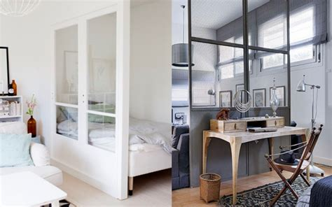 diviser une chambre en deux cloison separation de gallery of amazing cloison
