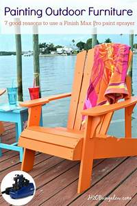 Paint Outdoor Furniture With A Paint Sprayer Traditional