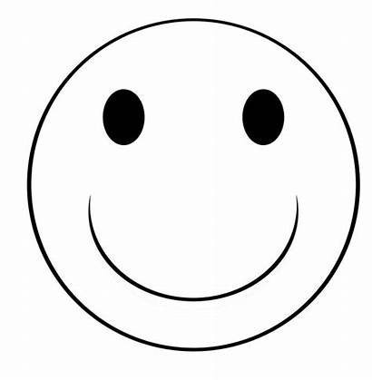 Smiley Face Clip Neutral Coloring Happy Clipart
