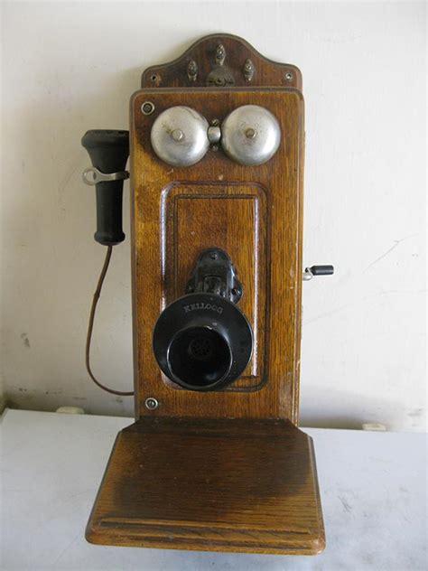 crank phone calls antique kellogg wall mounted crank phone miscellaneous