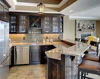 basement kitchen ideas 45 Amazing Luxury Finished Basement Ideas   Home Remodeling Contractors   Sebring Design Build