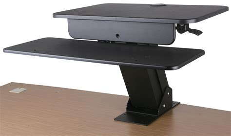 standing desk lower back pain acava gss03bas and gss03clp sit stand workstation for