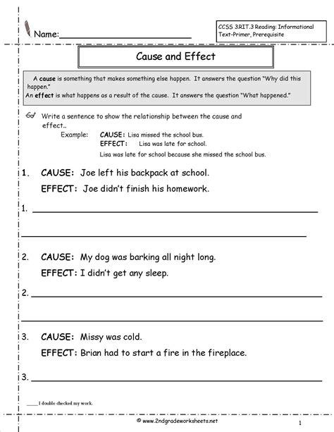 Reading Passages 2nd Grade Fiction  2nd Grade Comprehension Worksheets Free Printables