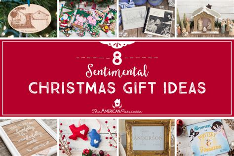 eight sentimental christmas gift ideas the american