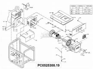 Powermate Formerly Coleman Pc0525300 19 Parts Diagram For