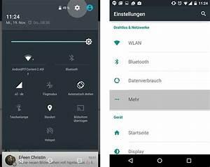 Mobiler Wlan Hotspot : wlan hotspot unter android einrichten androidpit ~ Jslefanu.com Haus und Dekorationen