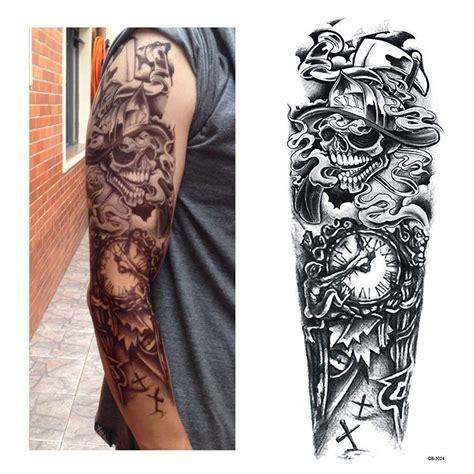 full arm tattoo xxl single  tattoo scary death timer