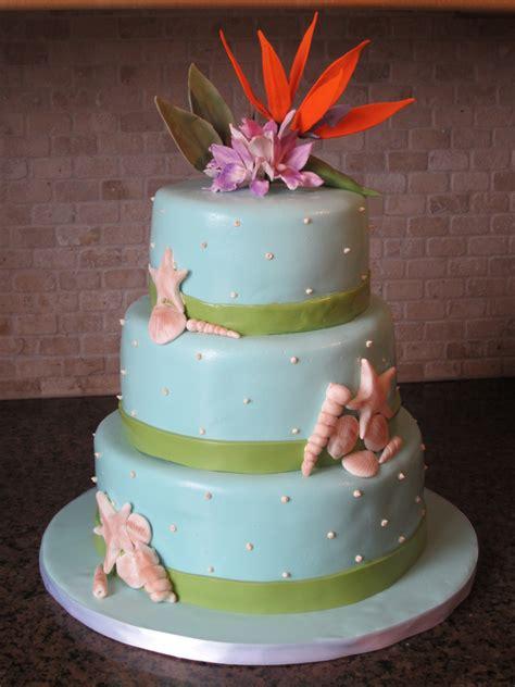 tropical theme wedding cake 187 diary of a cakeaholic