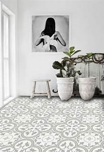 Vinyl Carreau Ciment : 20 beste idee n over vinyle carreaux de ciment op ~ Preciouscoupons.com Idées de Décoration