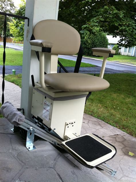 indy outdoor stair lift outside chair lifts exterior