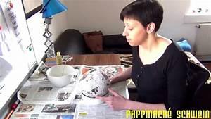 Sparschwein Aus Pappmache : sparschwein aus pappmach bastelanleitung youtube ~ Orissabook.com Haus und Dekorationen