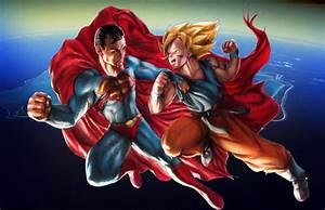superman vs goku by escorpiold on DeviantArt