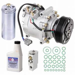 2002 Honda Civic A  C Compressor And Components Kit 1 7l