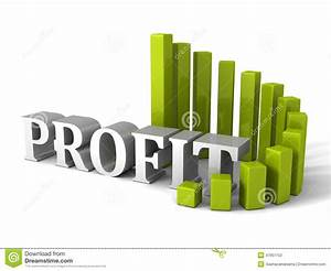 Green Circular Progress Bar Profit Chart Diagram  Business