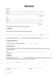 Mietvertrag Für Wohnungen : einfacher mietvertrag wo wohnung steuern vertrag ~ A.2002-acura-tl-radio.info Haus und Dekorationen