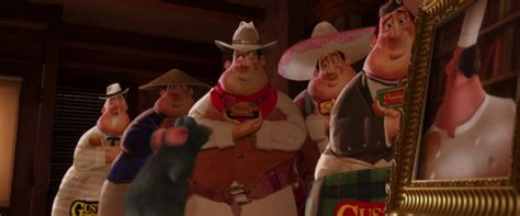 auguste gusteau personnage dans ratatouille pixar
