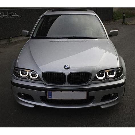 Bmw Halo Lights by Spyder Black Projector Led 3dhalo Headlights For 2002 2005
