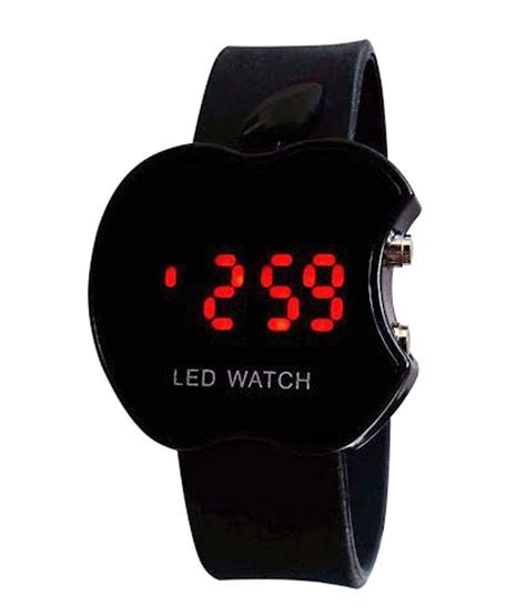 Black Apple Led Kids Watch Online at best price from