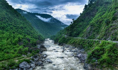 Beautiful Sceneries Of Nature For Wallpaper File Kosi River Valley Near Almora Uttarakhand India Jpg Wikipedia
