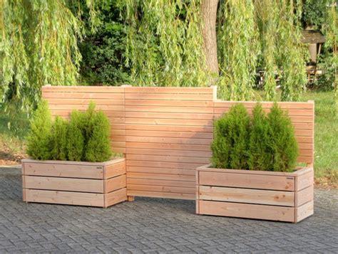 Pflanzkasten Als Sichtschutz by Sichtschutz Rankgitter Spalier Holzweise