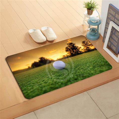golf doormat q298r custom golf sport doormat home decor door mat