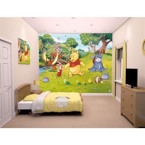 Papier Peint Winnie L Ourson Disney Walltastic papier peint winnie l ourson disney walltastic achat