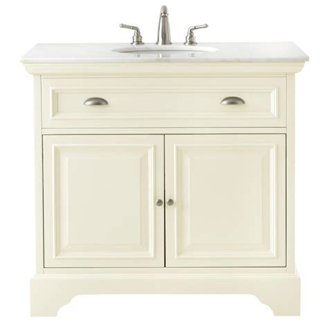 home decorators vanity home decorators collection 38 in w vanity in matte