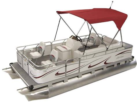 Gillgetter Pontoon Boats by Research Gillgetter Pontoon Boats 718 Sport Deluxe On