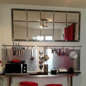 Miroir Style Verriere : miroir cecias 180cm art industriel ~ Melissatoandfro.com Idées de Décoration