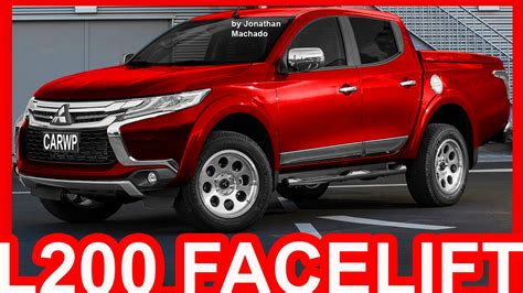 4k Photoshop 2018 Mitsubishi L200 Facelift #l200 Youtube