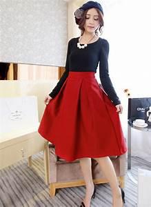 High Waisted Vintage Skirts - Dress Ala